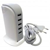 Chargeur secteur USB x 5 ports
