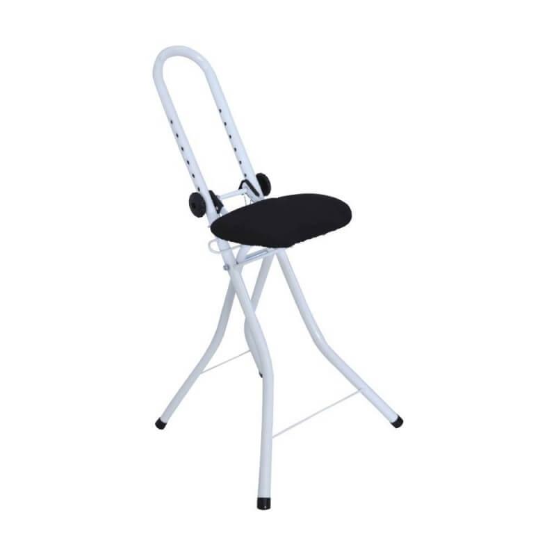 Chaise de repassage anti fatigue pliable et réglable