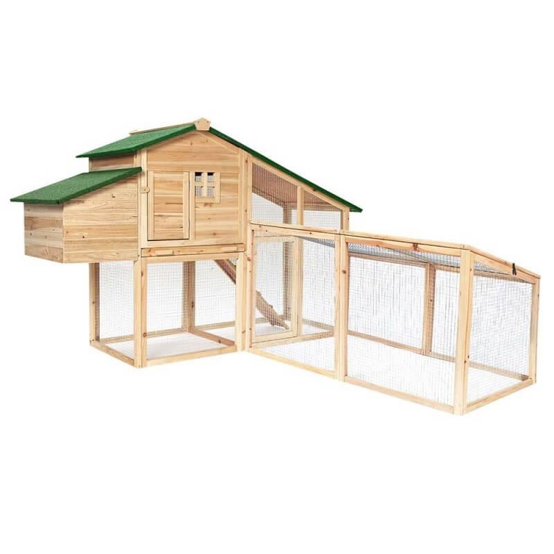Extension de poulailler en bois (1)