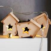 Guirlande maisons en bois LED (1)