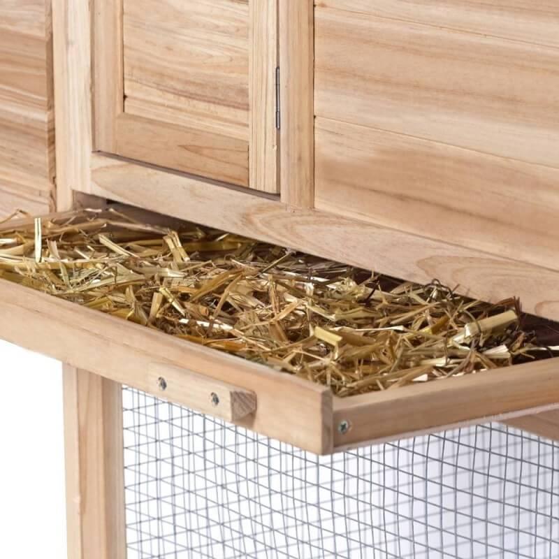 Poulailler bois avec pondoir (3)