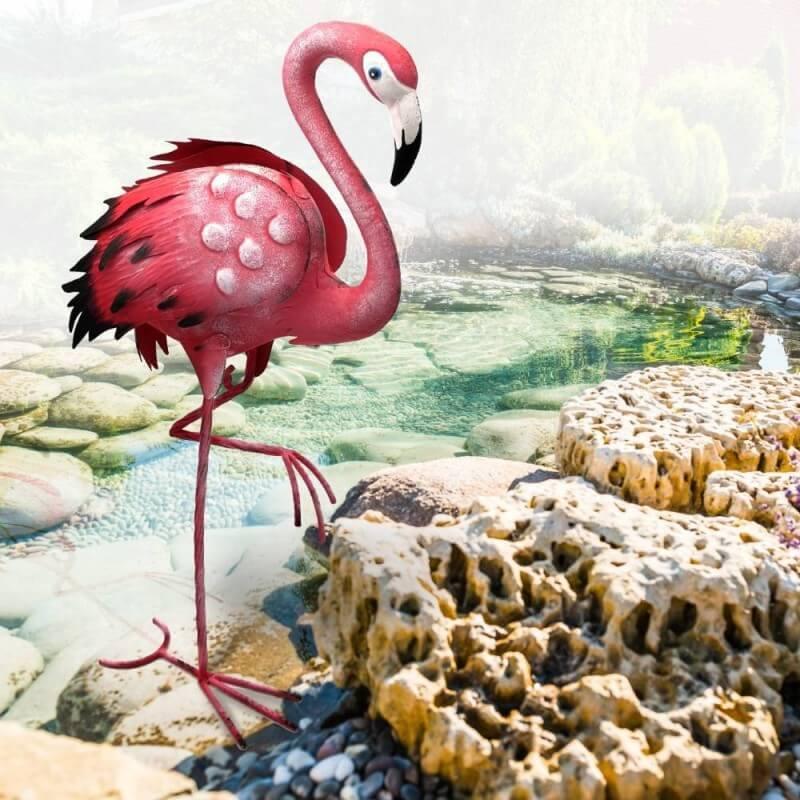 Flamant rose deco jardin animaux (1)