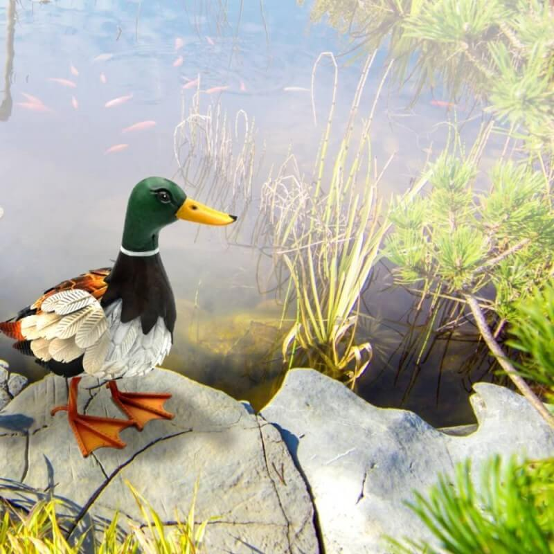 Canard deco jardin animaux (1)