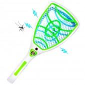 Raquette anti moustique rechargeable