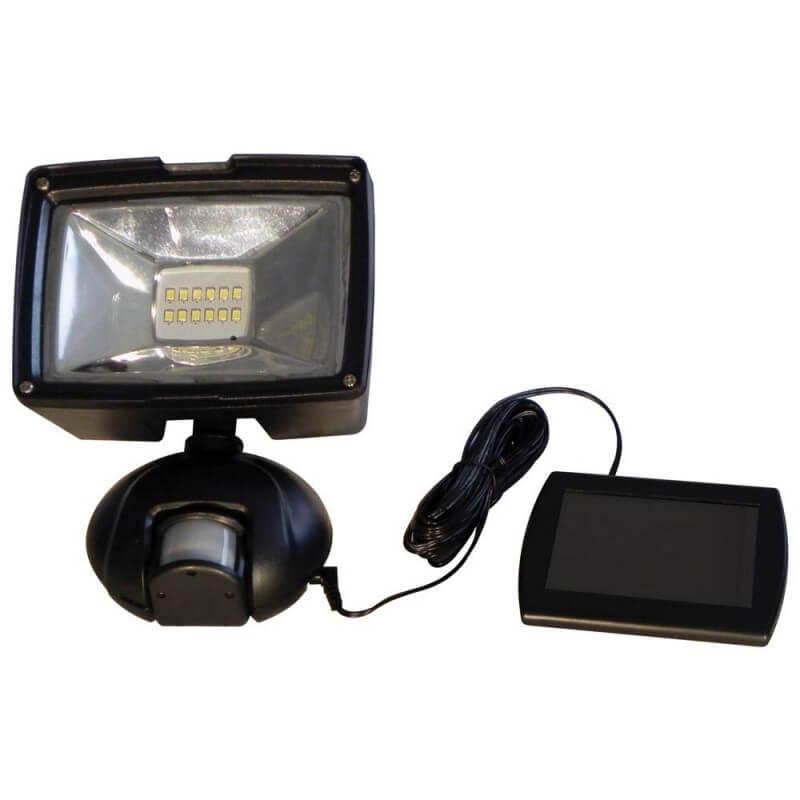 Projecteur solaire à détecteur de mouvements