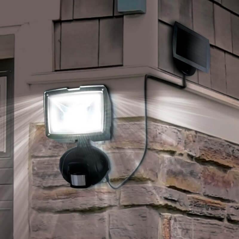 Projecteur solaire à détecteur de mouvements (1)