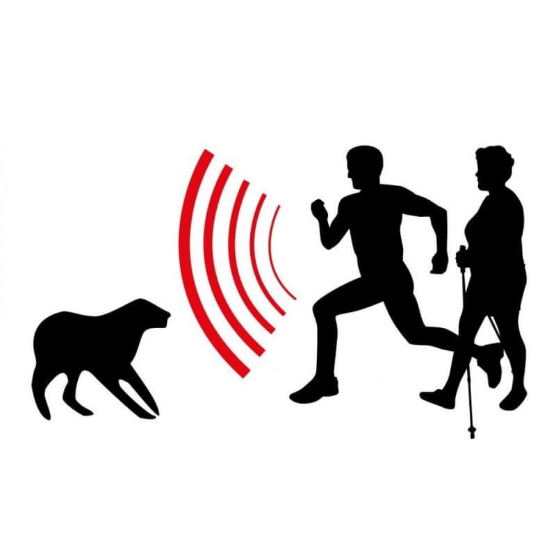 Repousse chien répulsif à ultrasons portable (2)