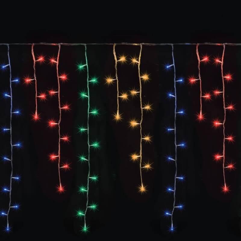 Rideau lumineux LED stalactite (1)