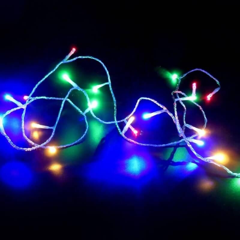 Guirlande lumineuse à LED multicolores (3)