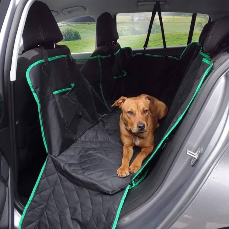 Housse de protection banquette voiture pour chien (1)