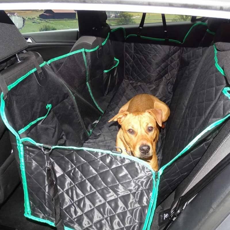 Housse de protection banquette voiture pour chien (2)