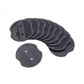 Rondelles plastiques pour crochets de paillage par 10