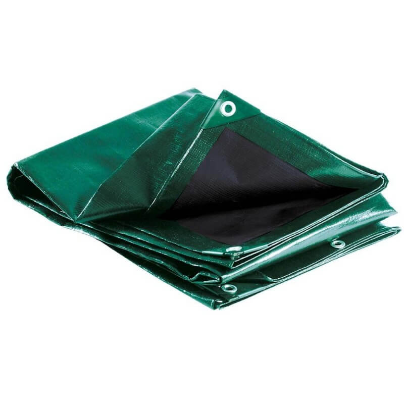 X 6 ft 3 x Bâche Bâche étanche Draps Housse Vert 6 ft environ 1.83 m environ 1.83 m 1.8 M x 1.8 m-par On