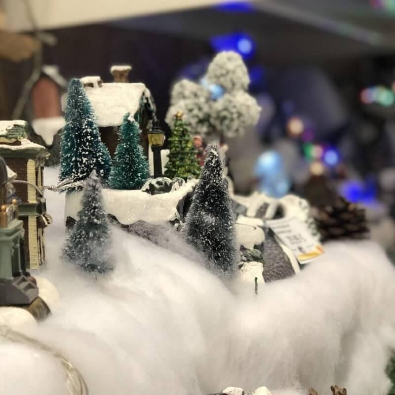 Ouate décorative imitation neige artificielle (1)