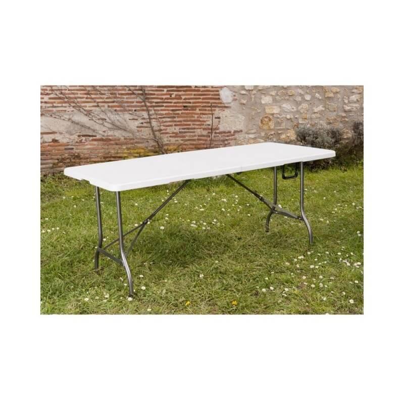 Grande table de jardin pliante 8 pers (8)