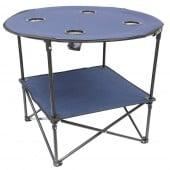 Table camping pliante en tissu