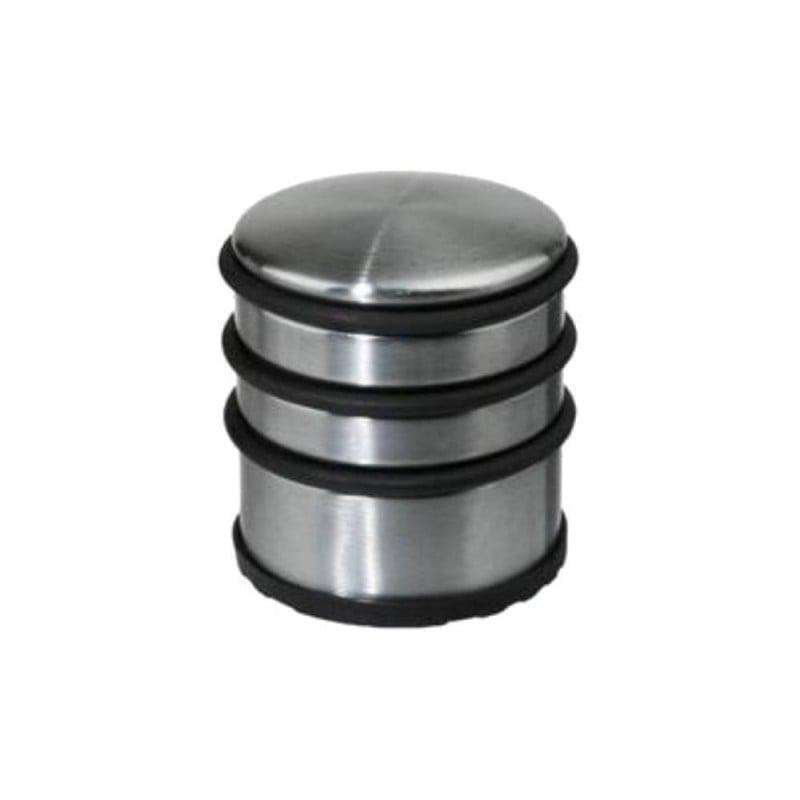 Butée de porte métal et caoutchouc - bloque porte