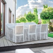Housse de protection bâche pour salon et table de jardin
