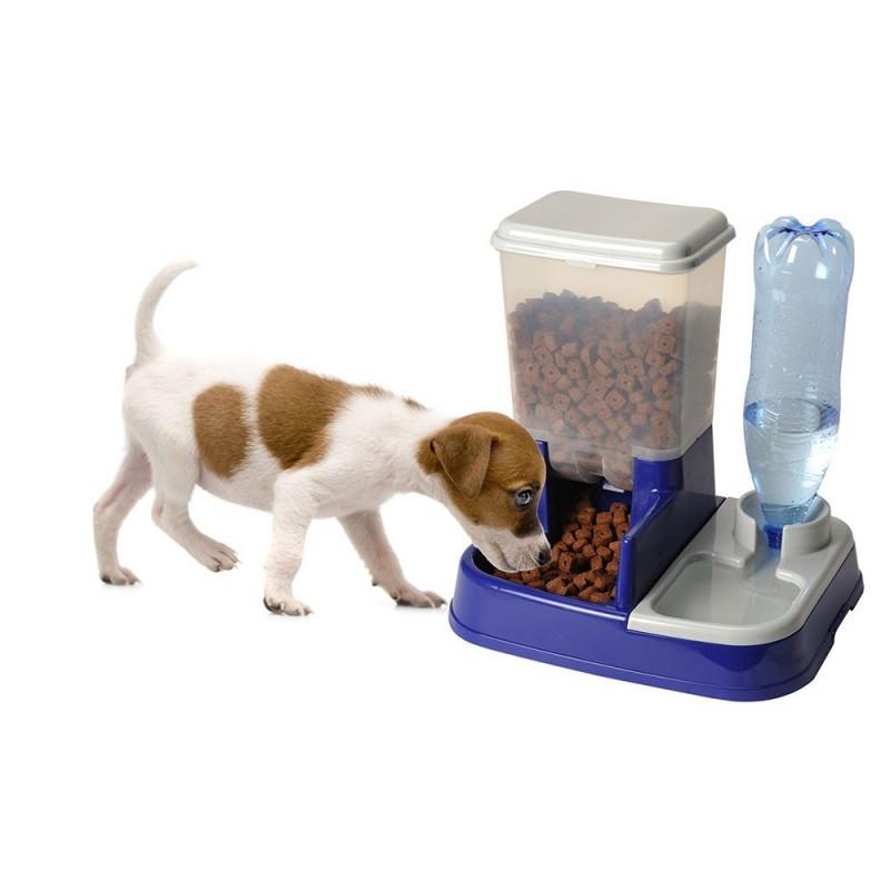 Distributeur de croquettes pour chien et chat (4)