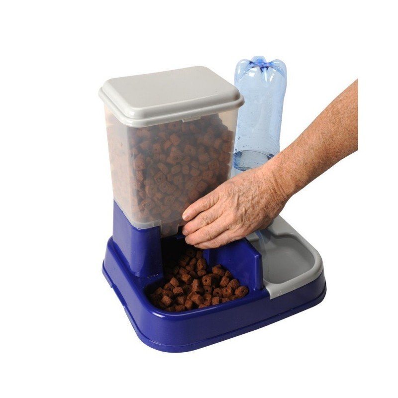 Distributeur de croquettes pour chien et chat (3)