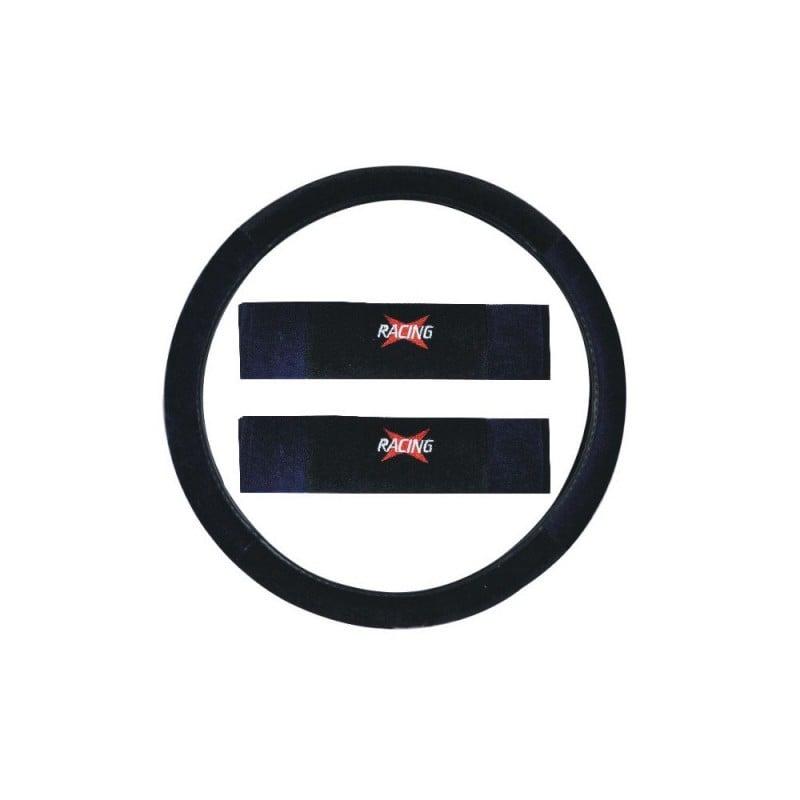 Housse de siège auto sport Racing Bleu et Noir 16 pièces (3)