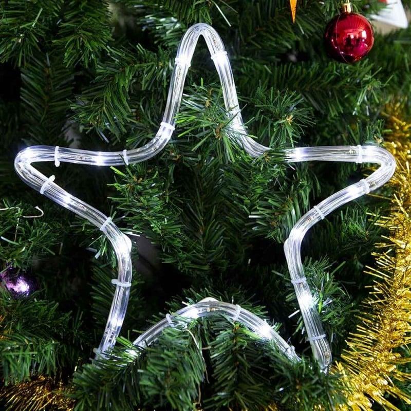 Étoile lumineuse à LED électrique (1)