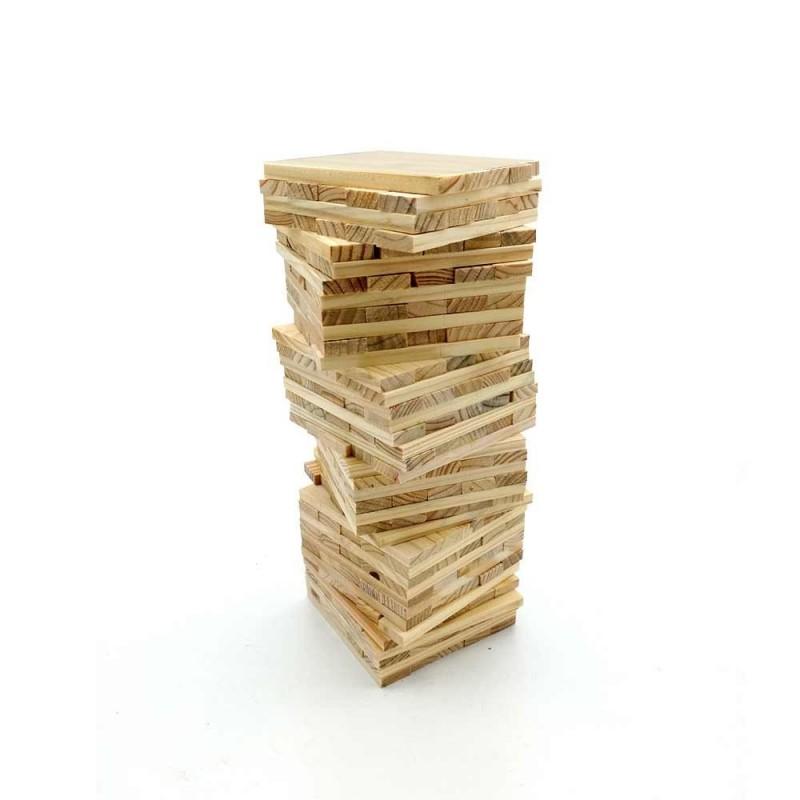 Jeu de construction de 200 planchettes en bois (3)