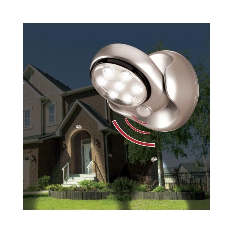 Lampe LED détecteur de mouvements pivotante 360 (2)