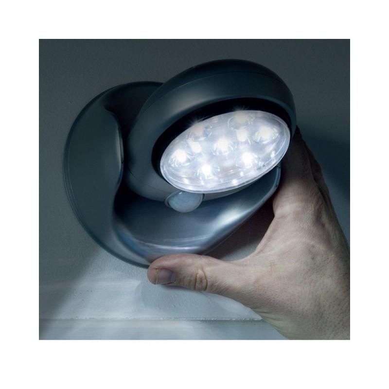 Lampe LED détecteur de mouvements pivotante 360 (5)