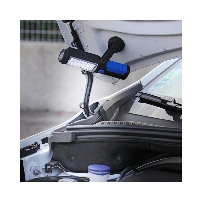 Lampe baladeuse LED magnétique avec crochet (3)