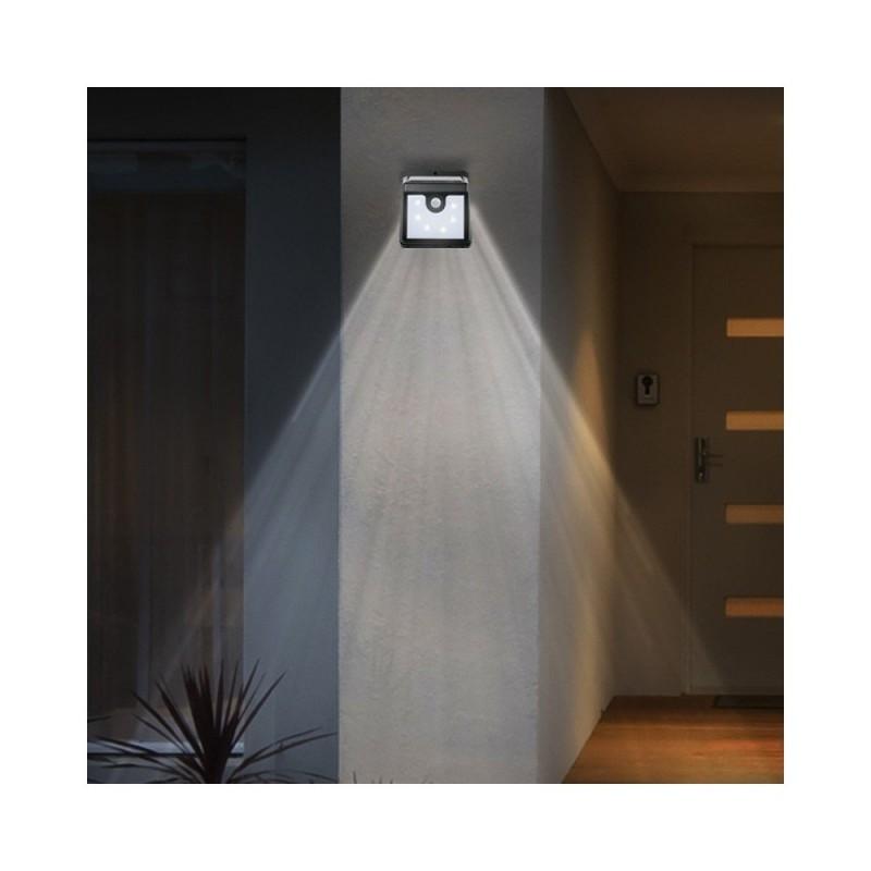 Appliques murales LED solaire avec détecteur de mouvements - lot de 2 (3)