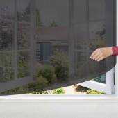 Moustiquaire fenêtre velcro x 4