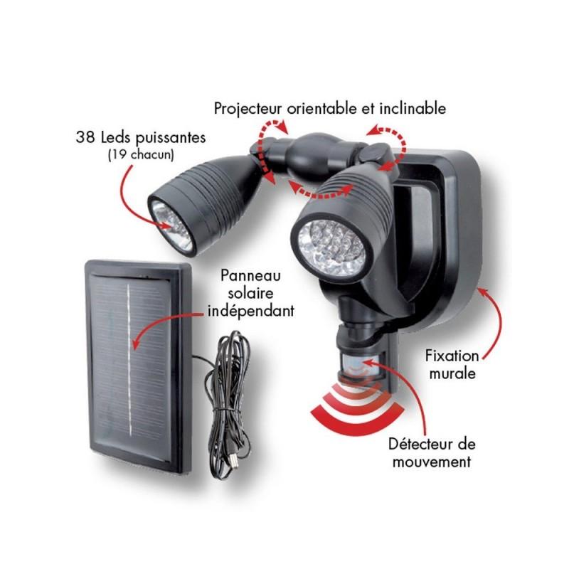 Spot LED extérieur avec détecteur de mouvements (2)