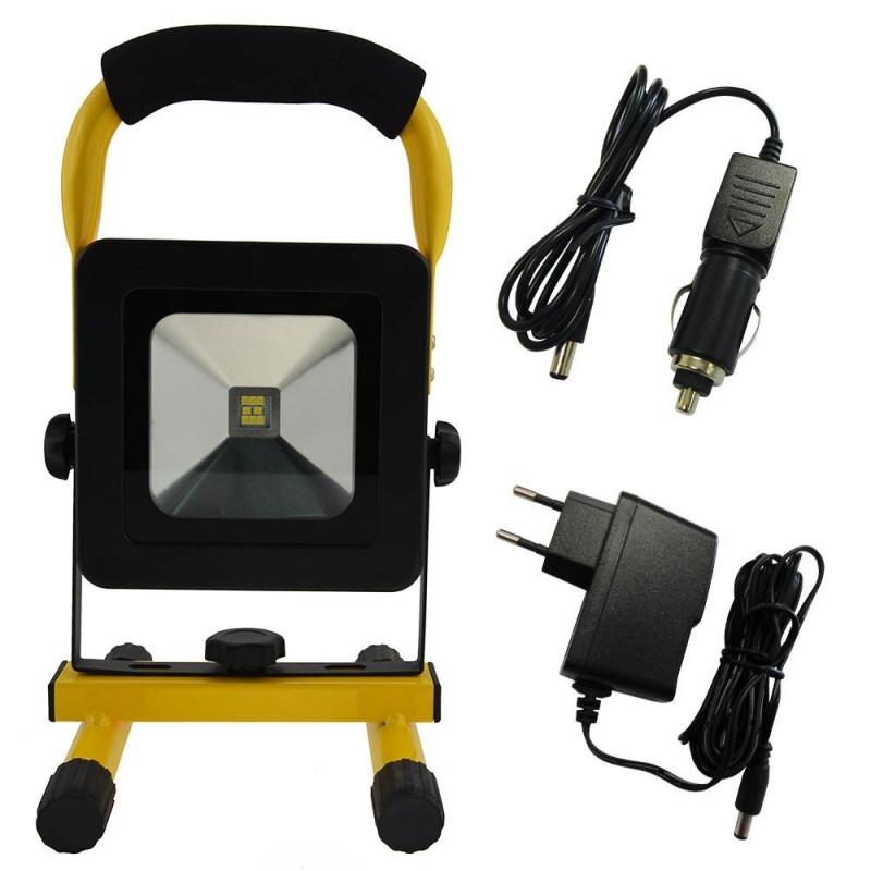 Projecteur LED rechargeable 10W (1)