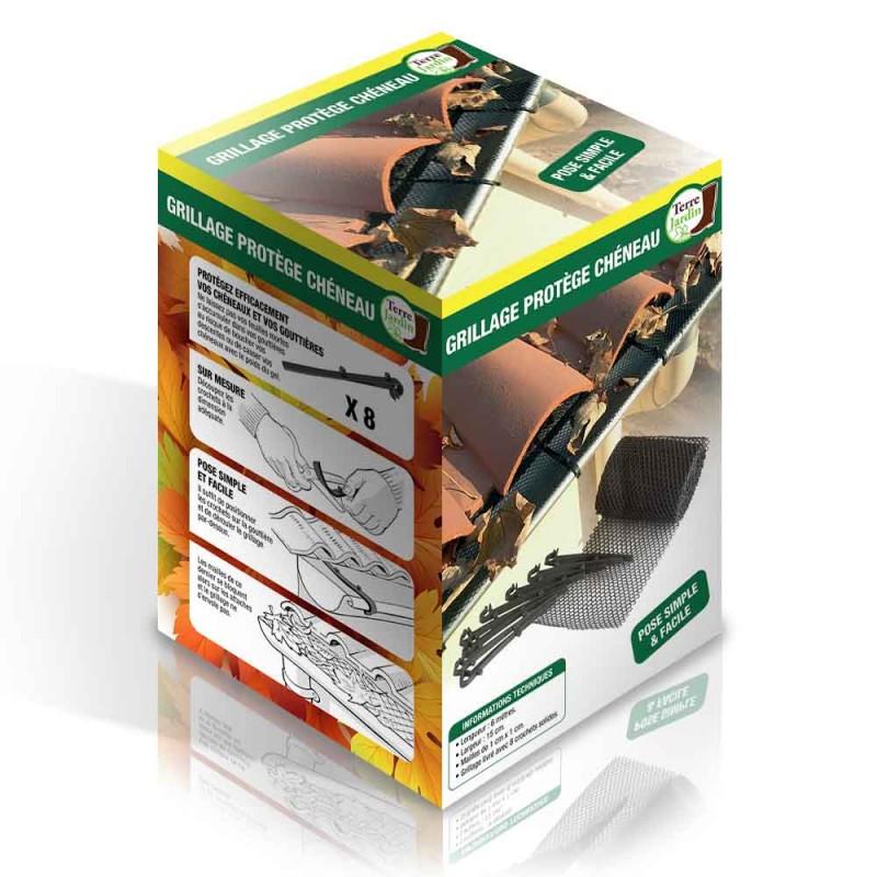 Grillage de protection pour chéneaux et gouttière (1)
