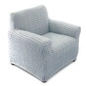 Housse de canapé & Housse de fauteuil extensible - gris