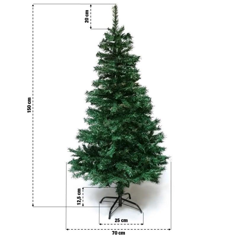 Sapin de Noël artificiel tradition et qualité (10)