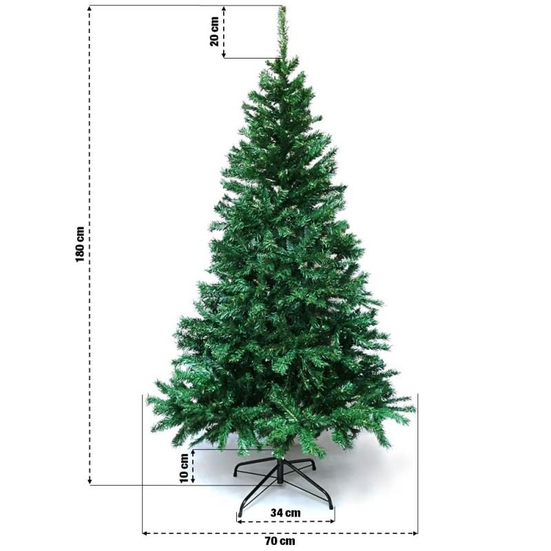 Sapin de Noël artificiel tradition et qualité (11)