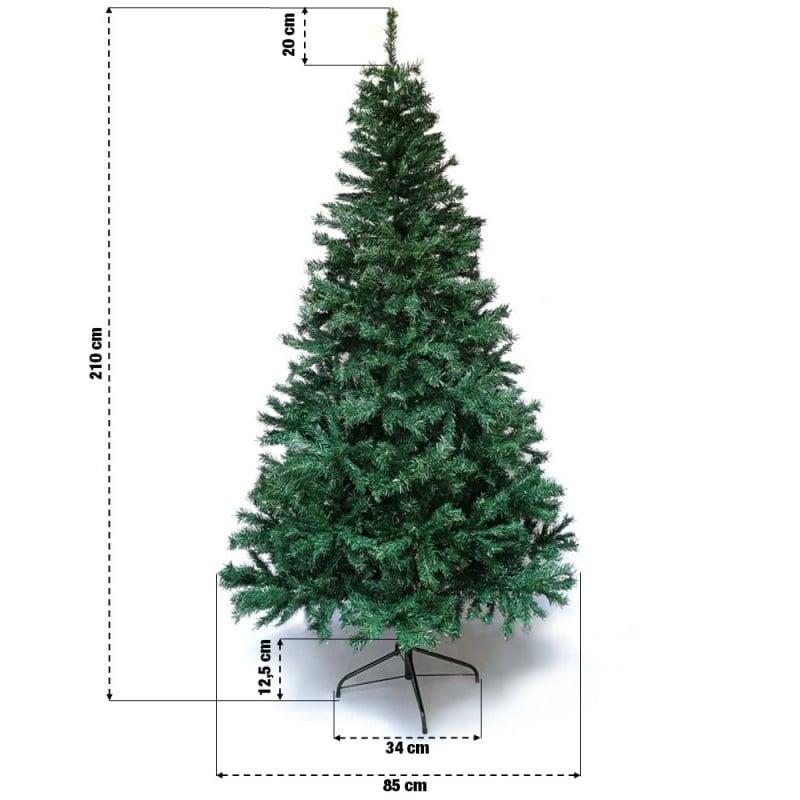 Sapin de Noël artificiel tradition et qualité (12)