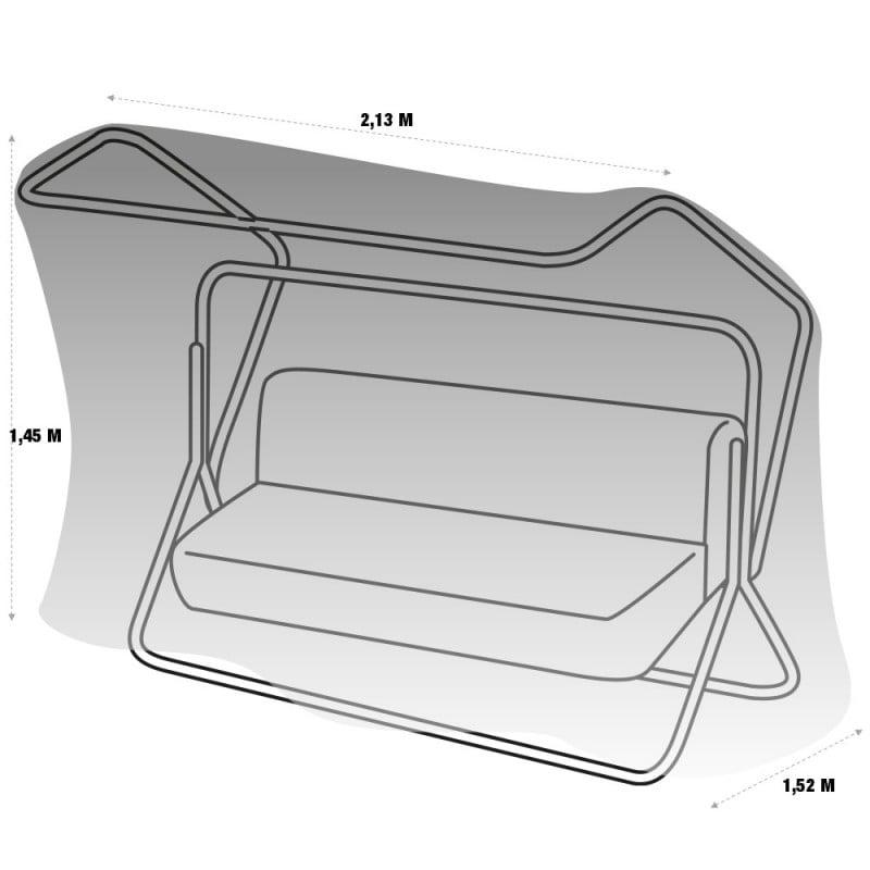 Housse de protection PVC balancelle - extérieur (3)