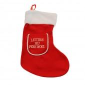 Chaussette de Noël - Lettre au Père Noël