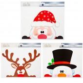 Sticker fenêtre Noël - à l'unité