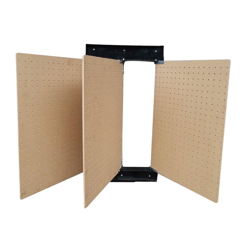 Panneaux muraux perforés rabattables pour outils x3 (1)