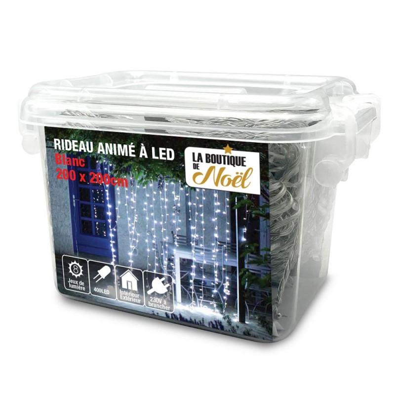 Rideau lumineux électrique à LED (6)