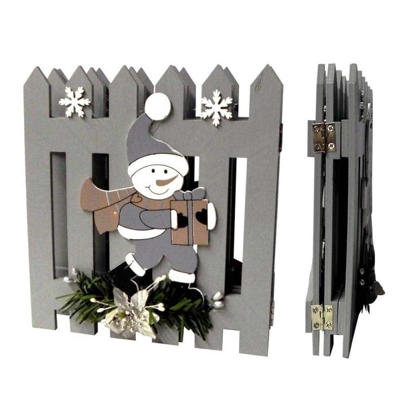 Barrière pour sapin de Noël - grise (2)
