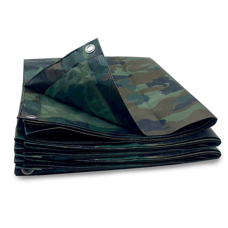 Bâche camouflage militaire 130g m2