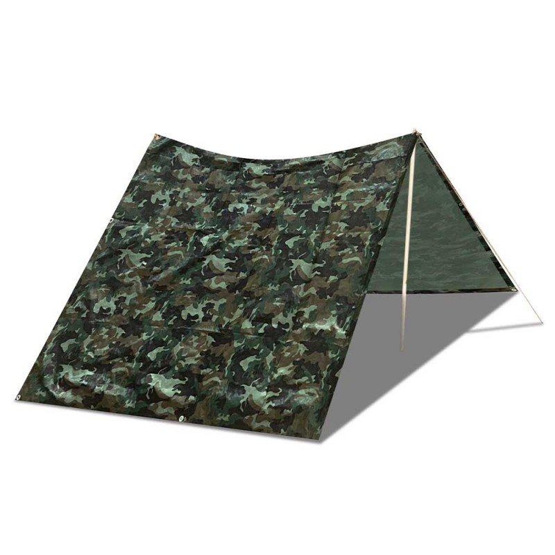 Bâche camouflage militaire 130g m2 (2)