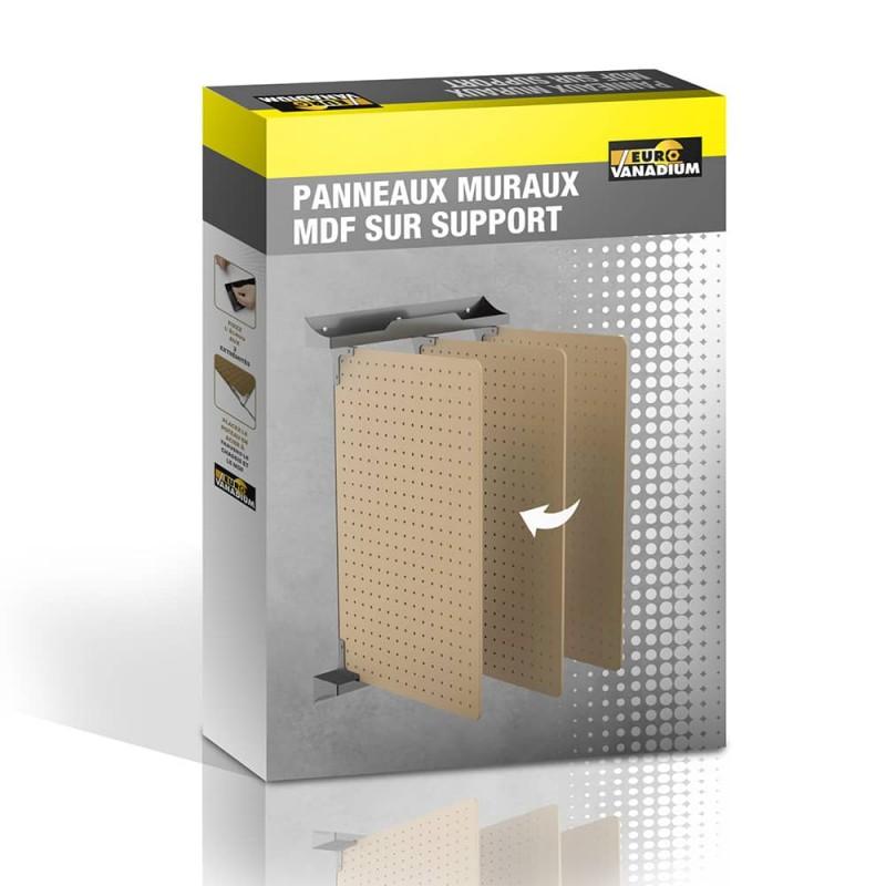 Panneaux muraux perforés rabattables pour outils x3 (5)