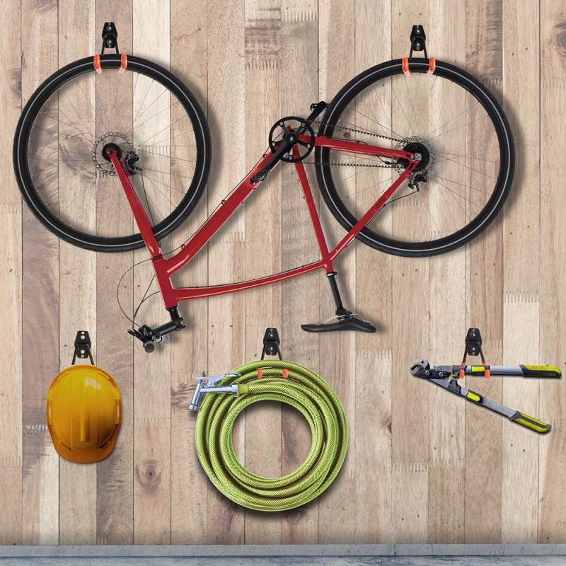 Crochets muraux de garage pour outils - x10 (1)