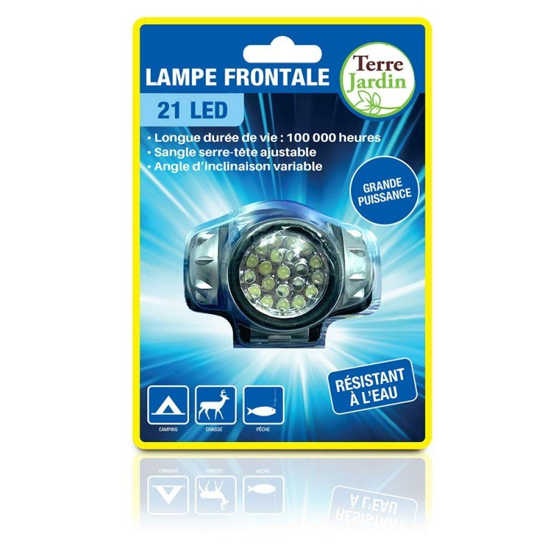 Lampe frontale 21 leds (3)